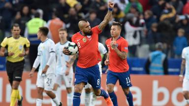 AUDIO: 1º Gol de Chile (Arturo Vidal)