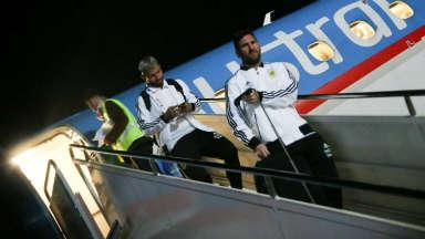 AUDIO: La Selección llegó a San Juan para el duelo con Nicaragua