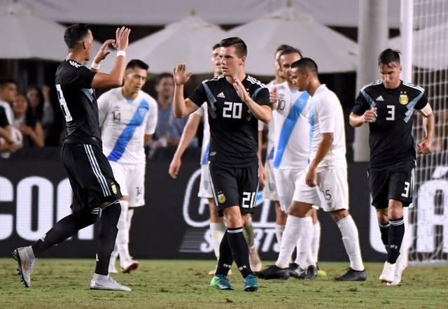 FOTO: Una Selección renovada venció sin despeinarse a Guatemala