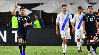 AUDIO: 1º Gol de Argentina (Gonzalo Martínez)