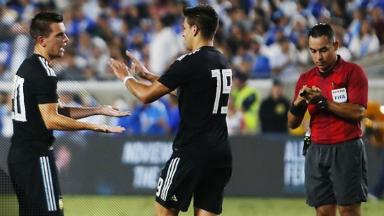 AUDIO: 2º Gol de Argentina (Giovani Lo Celso)