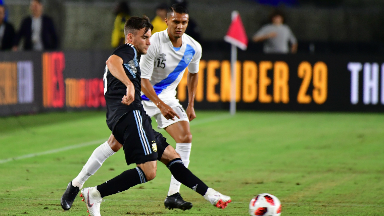 AUDIO: 3º Gol de Argentina (Giovanni Simeone)