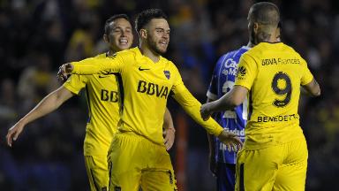 AUDIO: Gol de Nández a Godoy Cruz