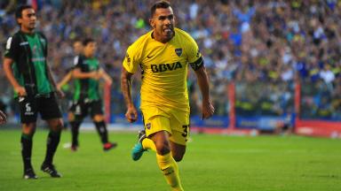 AUDIO: Gol de Tevez a San Martín de San Juan