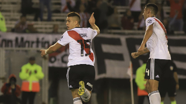 AUDIO: 1º Gol de River (Santos Borré)