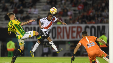 AUDIO: 5º Gol de River (De la Cruz)