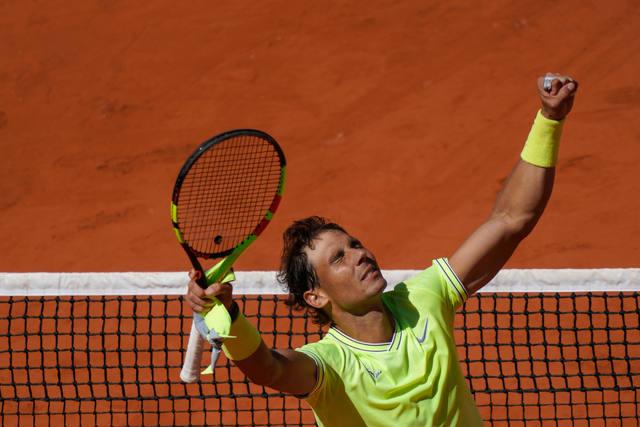 FOTO: Nadal aplastó a Federer y jugará la final