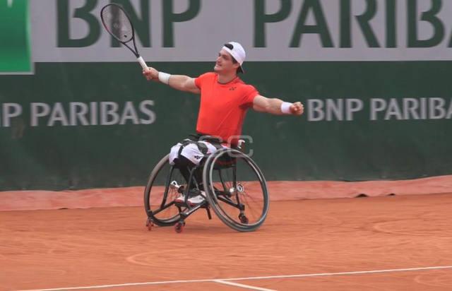 FOTO: El Lobito Fernández jugará la final de Roland Garros