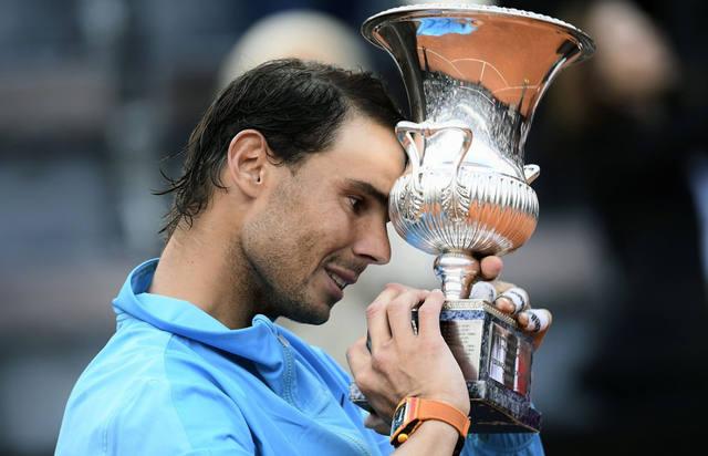 FOTO: Nadal venció a Djokovic y consiguió su primer título del año