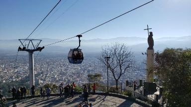 AUDIO: Teleférico San Bernardo, un paseo en altura en Salta