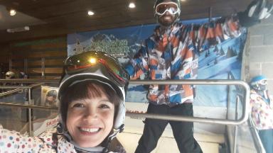 AUDIO: Conocé el simulador de esquí en el centro de Bariloche