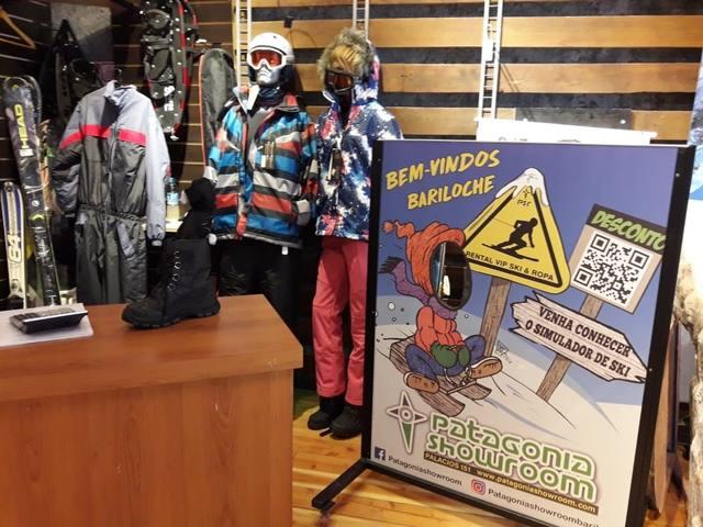 FOTO: Conocé el simulador de esquí en el centro de Bariloche