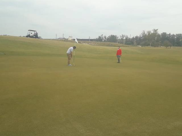 FOTO: El campo internacional de golf de Termas de Río Hondo