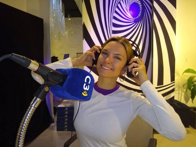 FOTO: Volvió Sofía Zámolo al aire de Cadena 3 con Fire Time