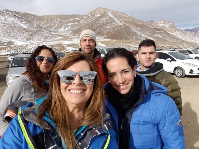 FOTO: Parque Aventura, un atractivo en la nieve de Las Leñas