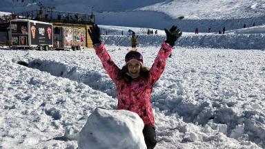 AUDIO: Parque Farellones diversión en la nieve en Chile