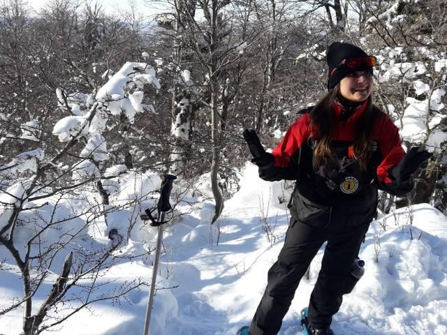 FOTO: Aventura y paseo en raquetas por el Cerro Otto
