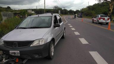AUDIO: Un motociclista murió en un accidente en la ruta E 53