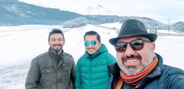 FOTO: Los Tekis derriten el hielo en Ushuaia