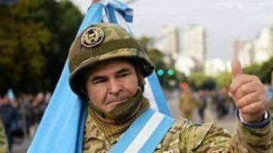 AUDIO: Ex soldado de Malvinas, condecorado por su valor