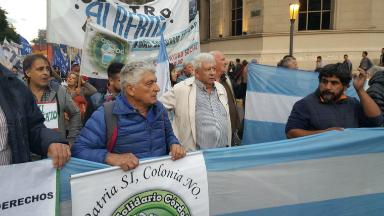 AUDIO: Protestan contra el tarifazo en Buenos Aires y Córdoba