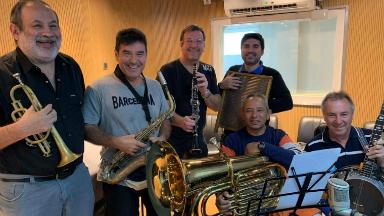 AUDIO: Reviví el paso de la Small Jazz Band por Tiempo Compartido