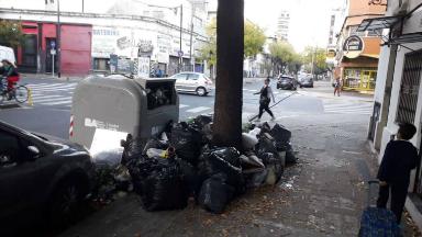 AUDIO: Prometen regularizar hoy la recolección en Buenos Aires
