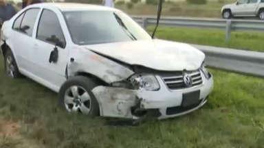 AUDIO: El conductor, después de chocar 9 autos, se suicidó