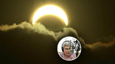 AUDIO: Reviví el emocionante relato de Rony con el paso del eclipse