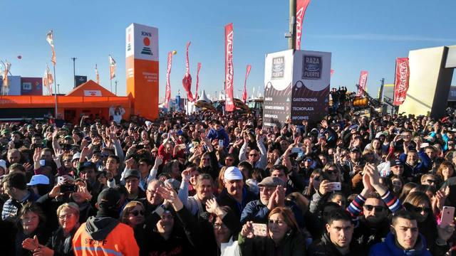 FOTO: Más de 5 mil personas en el stand de Cadena 3 de Agroactiva