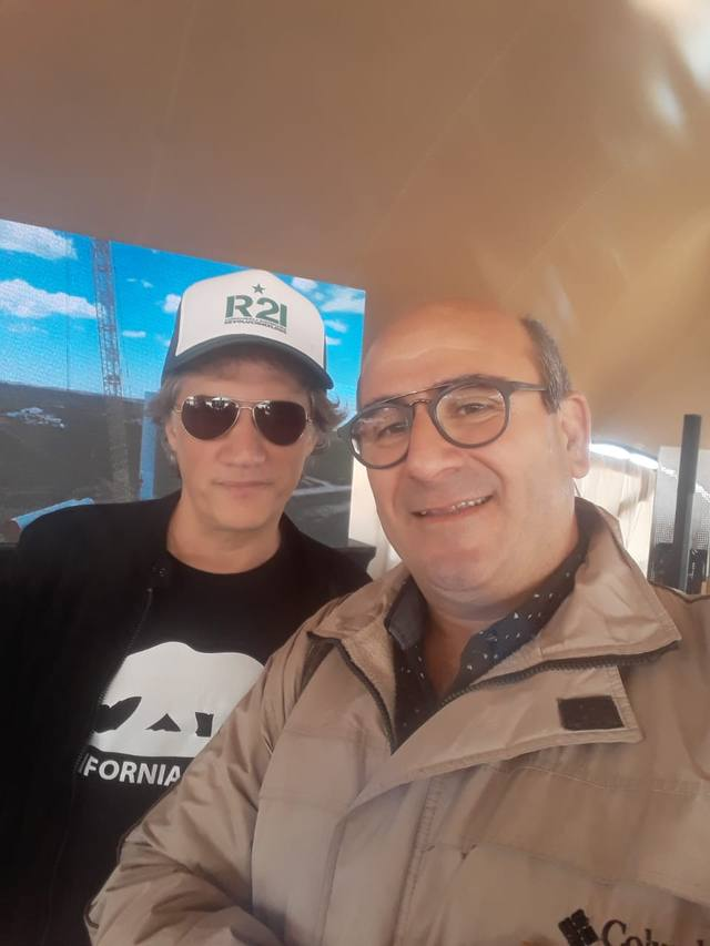 FOTO: Charly Alberti y Víctor Rapetti