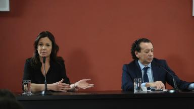 FOTO: Carolina Stanley, ministra de Desarrollo Social.