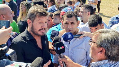 AUDIO: Marcelo Tinelli no descartó ser candidato a Presidente