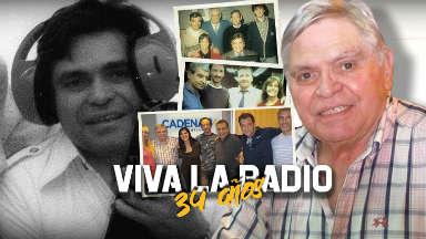 VIDEO: 34 años de VIVA LA RADIO