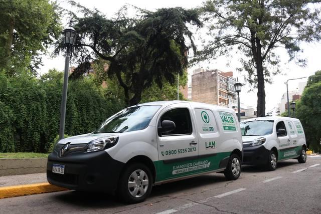 FOTO: Córdoba tiene autos eléctricos para controlar la recolección