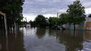 AUDIO: Leones y Justiniano Posse, afectadas por la inundación.