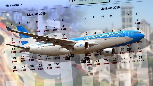 FOTO: Aerolíneas Argentinas regresa con la promoción desde $ 499