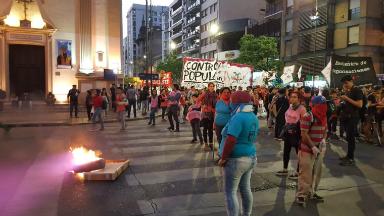 AUDIO: Continúa la marcha contra el gatillo fácil en Córdoba