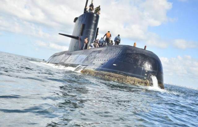 FOTO: El ARA San Juan desapareció el 15 de noviembre