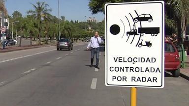 AUDIO: A fin de mes comienzan las multas por exceso de velocidad