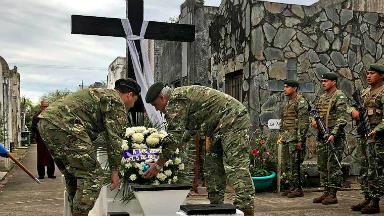 AUDIO: Impulsan proyecto para indemnizar a familiares de soldados