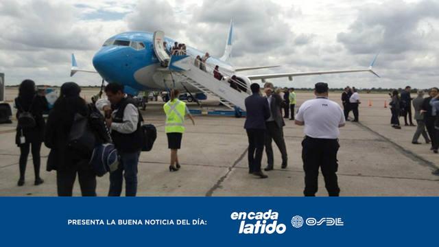 FOTO: El ejemplar gesto de un empleado aduanero de Córdoba