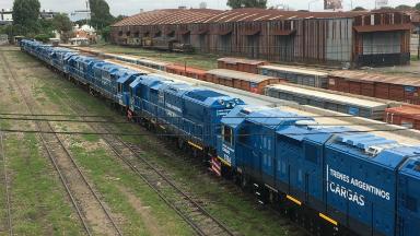 AUDIO: Tren Belgrano Cargas llevó 100 vagones de Salta a Santa Fe