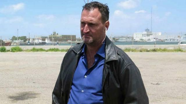 FOTO: Tagliapietra, padre de uno de los marinos (Foto:CEDOC)