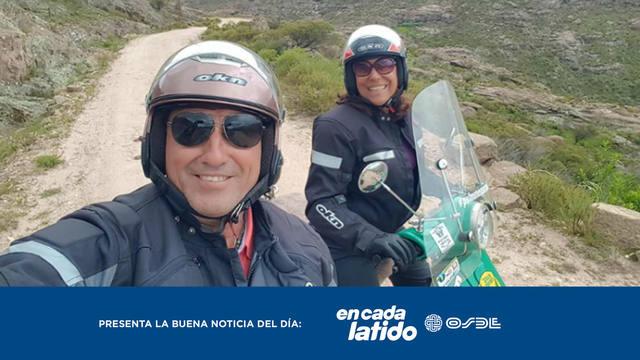 FOTO: Realizan una cruzada en moto por la donación de órganos