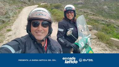 AUDIO: Realizan una cruzada en moto por la donación de órganos
