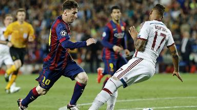 AUDIO: En semifinales de Champions, Messi enloqueció al estadio