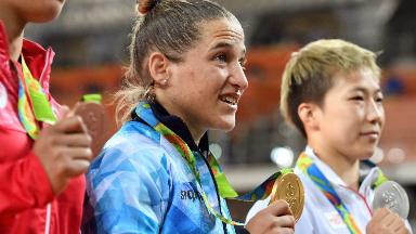 AUDIO: Paula Pareto: entre el ambo y el judo, la doctora de oro