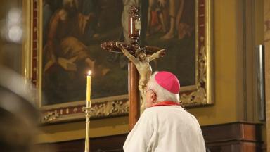AUDIO: Ñáñez presidió la santa misa