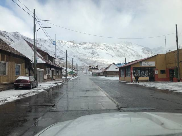 Intensas nevadas en Malargüe y San Rafael